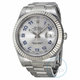 Rolex 116334RBLAO Datejust II Mens Automatic Watch