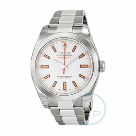Rolex 116400WSO Milgauss Mens Automatic Watch