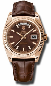 Rolex 118135CHSL Day-Date Mens Automatic Watch