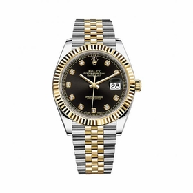 Rolex 12633BKDJ Datejust 41 Mens Automatic Watch
