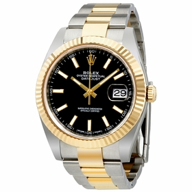 Rolex 12633BKSO Datejust 41 Mens Automatic Watch