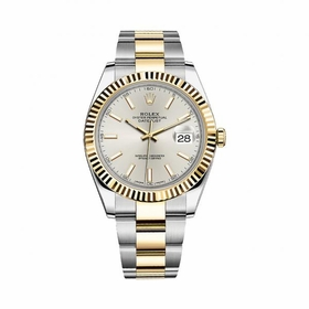 Rolex 12633SSO Datejust 41 Mens Automatic Watch