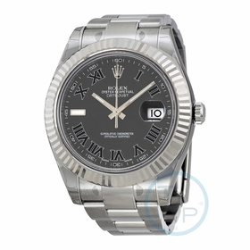 Rolex 16334BKRO Datejust II Mens Automatic Watch