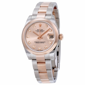 Rolex 178241PDO Datejust Lady 31 Ladies Automatic Watch