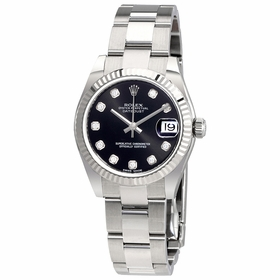 Rolex 178274BKDO Datejust Lady 31 Ladies Automatic Watch