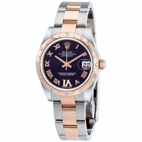 Rolex 178341PURDO Oyster Perpetual Datejust 31 Ladies Automatic Watch