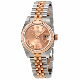 Rolex 179171PDRJ Oyster Perpetual Lady Ladies Automatic Watch