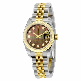 Rolex 179173BKMDJ Lady Datejust 26 Ladies Automatic Watch