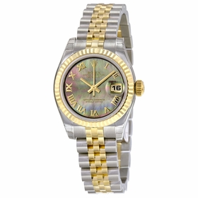 Rolex 179173BKMRJ Lady Datejust 26 Ladies Automatic Watch