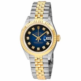 Rolex 179173BLVDJ Oyster Perpetual Ladies Automatic Watch
