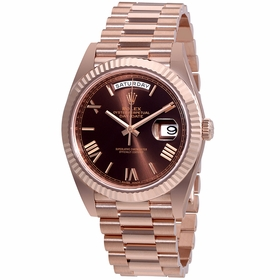 Rolex 228235CHRP Day-Date 40 Mens Automatic Watch