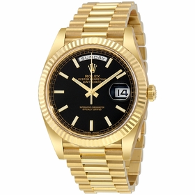 Rolex 228238BKSP Day-Date 40 Mens Automatic Watch