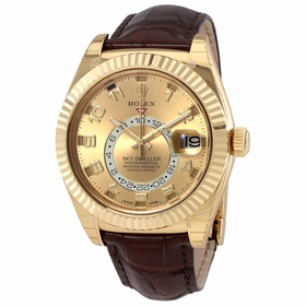 Rolex 326138 Sky Dweller Mens Automatic Watch