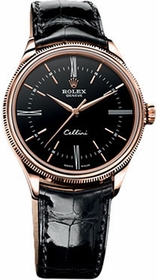 Rolex 50505BKSL Cellini Mens Automatic Watch