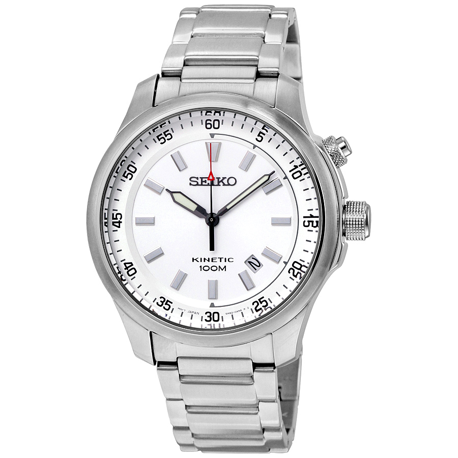 Seiko SKA683 Kinetic Mens Auto-Quartz Watch