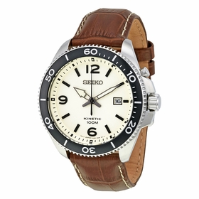 Seiko SKA749 Kinetic Mens Kinetic Quartz Watch