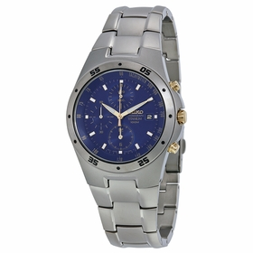 Seiko SND449 Titanium Mens Chronograph Quartz Watch