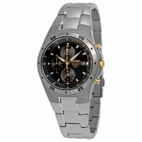 Seiko SND451 Titanium Mens Chronograph Quartz Watch