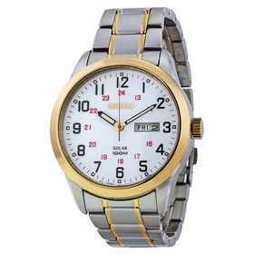 Seiko SNE370 Solar Mens Quartz Watch