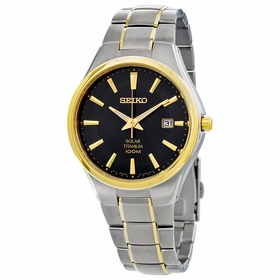 Seiko SNE382 Solar Mens Quartz Watch