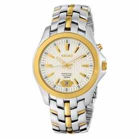 Seiko SNQ102 Perpetual Calendar Mens Quartz Watch