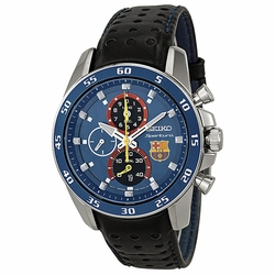 Seiko SPC089 Sportura FC Barcelona Mens Chronograph Quartz Watch
