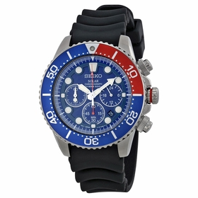 Seiko SSC031 Prospex Mens Chronograph Quartz Watch