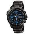 Seiko SSC079 Solar Mens Chronograph Solar Quartz Watch