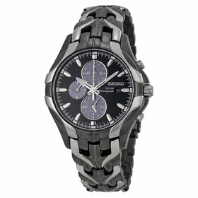 Seiko SSC139 Solar Mens Chronograph Eco-Drive Watch