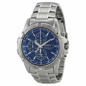 Seiko SSC141 Solar Mens Chronograph Quartz Watch