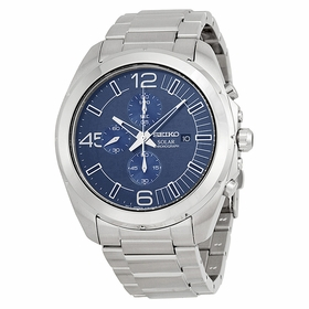 Seiko SSC201 Solar Chronograph Mens Chronograph Quartz Watch