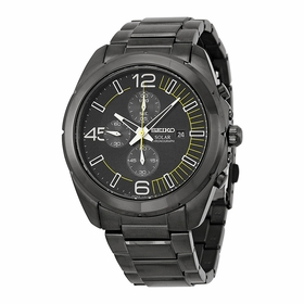 Seiko SSC217 Solar Mens Chronograph Quartz Watch
