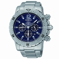 Seiko SSC221 Solar Mens Chronograph Solar Quartz Watch