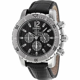 Seiko SSC223P2 Solar Mens Chronograph Quartz Watch