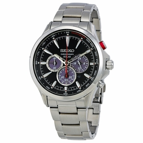 Seiko SSC493 Solar Mens Chronograph Quartz Watch