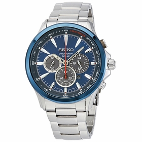 Seiko SSC495 Solar Chronograph Mens Chronograph Quartz Watch