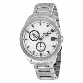 Tissot T0694394403100 Titanium GMT Mens Quartz Watch