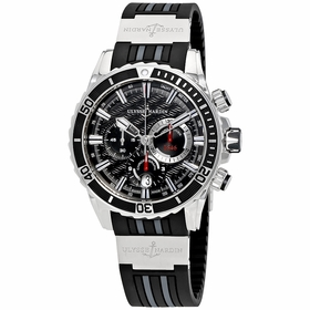 Ulysse Nardin 1503-151-3/92 Diver Mens Chronograph Automatic Watch