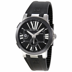 Ulysse Nardin 243-00-3/42 Executive Dual Time Mens Automatic Watch