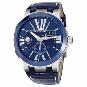 Ulysse Nardin 243-00/43 Executive Dual Time Mens Automatic Watch