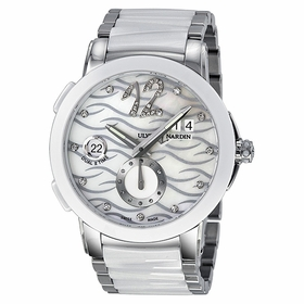 Ulysse Nardin 243-10-7-691 Executive Dual Time Ladies Automatic Watch