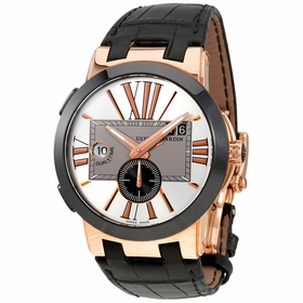 Ulysse Nardin 246-00/421 Executive Dual Time Mens Automatic Watch