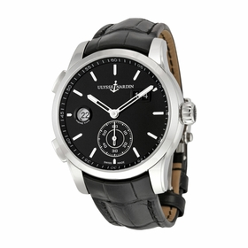 Ulysse Nardin 3343-126-92 Dual Time Mens Automatic Watch