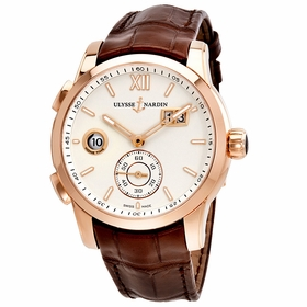 Ulysse Nardin 3346-126/90 Dual Time Mens Automatic Watch
