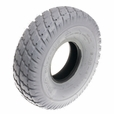 "10""x3"" (3.00-4, 260x85) Gray Pneumatic Mobility Tire with Durotrap Tread (Primo)"
