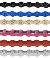 "112 Link 1/8"" Bike Chain with Master Link  (Multiple Color Choices)"