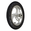 """12-1/2"""" x 2-1/4"""" Front Wheel Assembly with Axle (Curved Spokes)"""