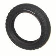 "12-1/2"" x 3.0"" Currie Knobby Scooter Tire"