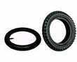 "12-1/2""x2-1/4"" (57-203/62-203) Tire and Tube Set with Knobby Tread"