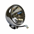 12 Volt Chrome Headlight Assembly for the Baja Mini Bike MB200